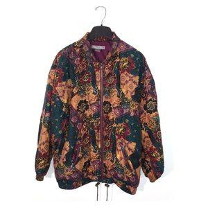 Vintage 90s Silk Puffy Jacket, large, vsco